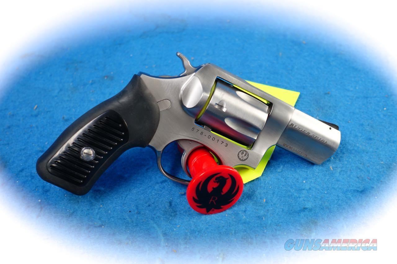 Ruger SP101 SS 9mm DA Revolver Model 5783 **New**  Guns > Pistols > Ruger Double Action Revolver > SP101 Type