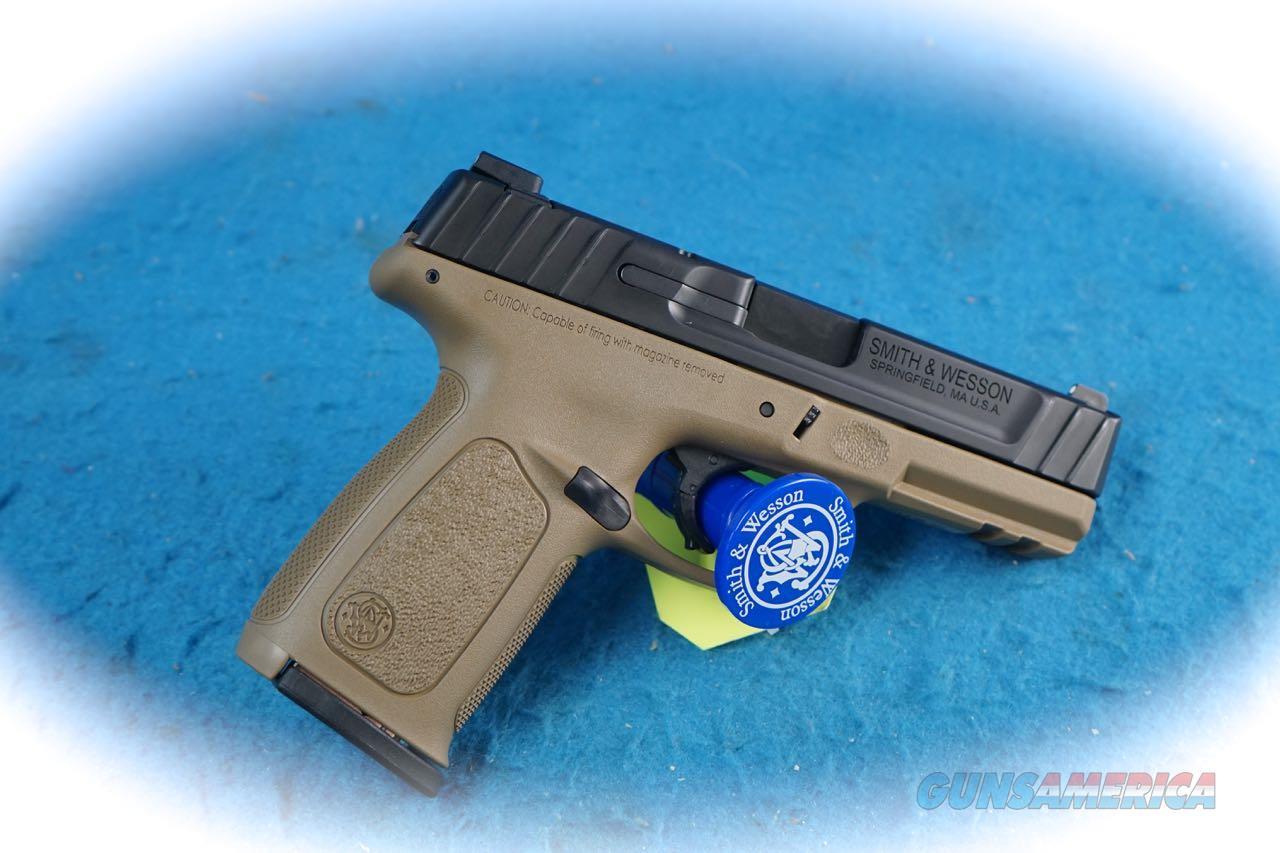 Smith & Wesson SD9 VE 9mm Semi Auto Pistol FDE **New**  Guns > Pistols > Smith & Wesson Pistols - Autos > Polymer Frame