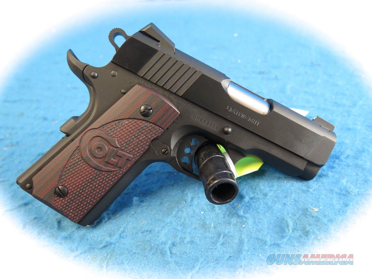 Colt 1911 Defender Lightweight XSE .45 ACP Pistol Model O7800XE **New**  Guns > Pistols > Colt Automatic Pistols (1911 & Var)