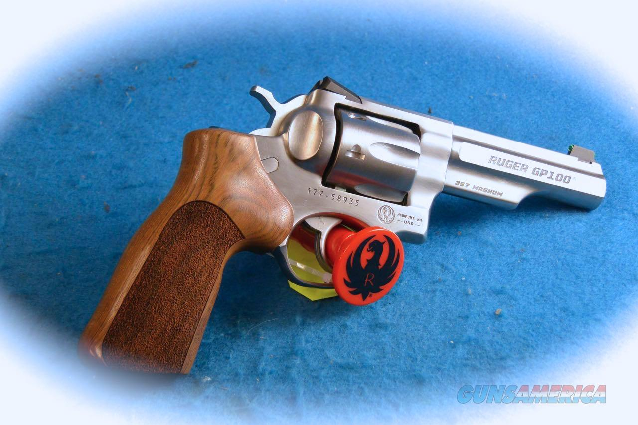 Ruger GP100 Match Champion .357 Mag DA Revolver **New**  Guns > Pistols > Ruger Double Action Revolver > GP100