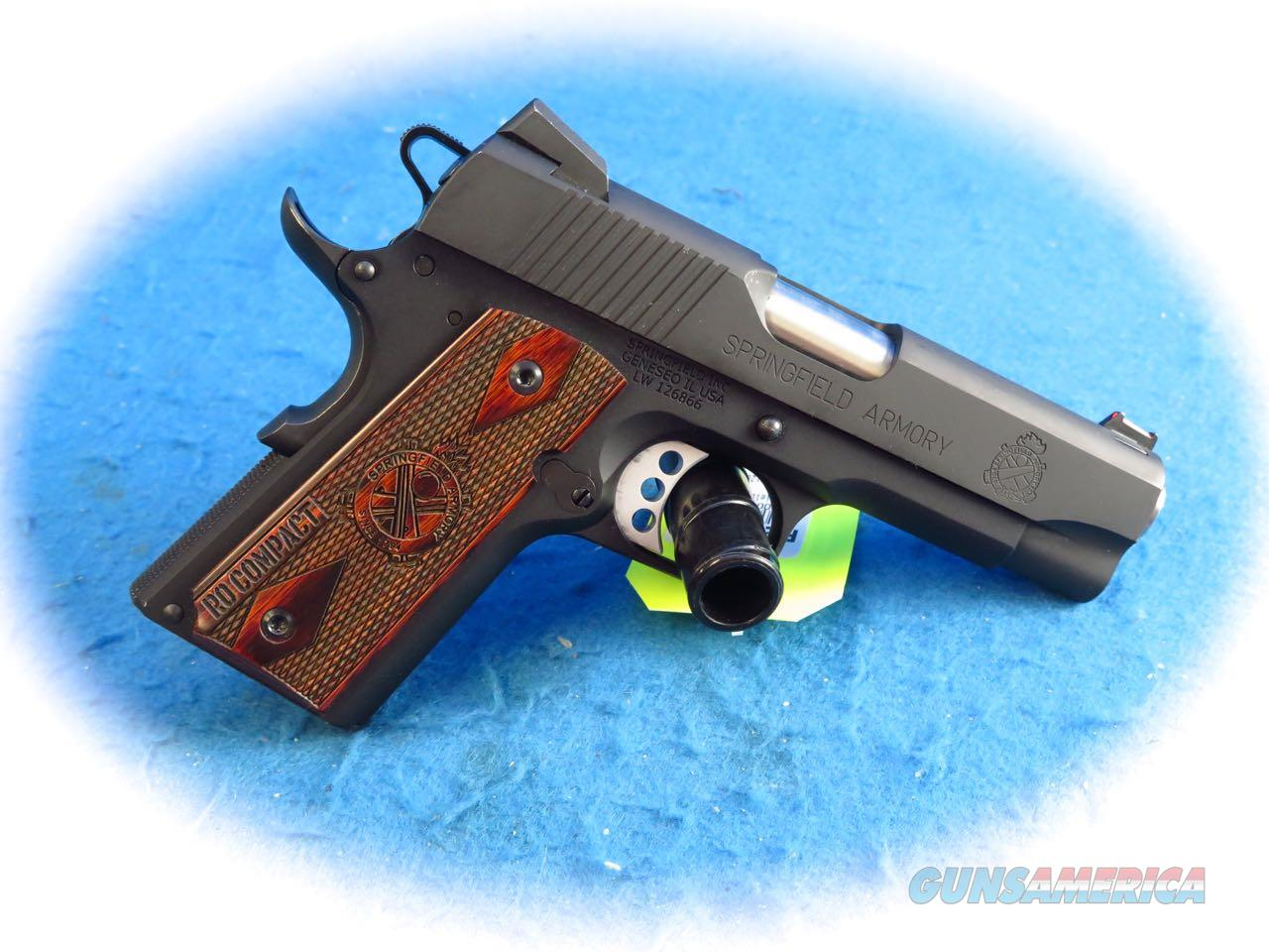 Springfield Armory 1911 Range Officer Compact .45 ACP Pistol **Used**  Guns > Pistols > Springfield Armory Pistols > 1911 Type