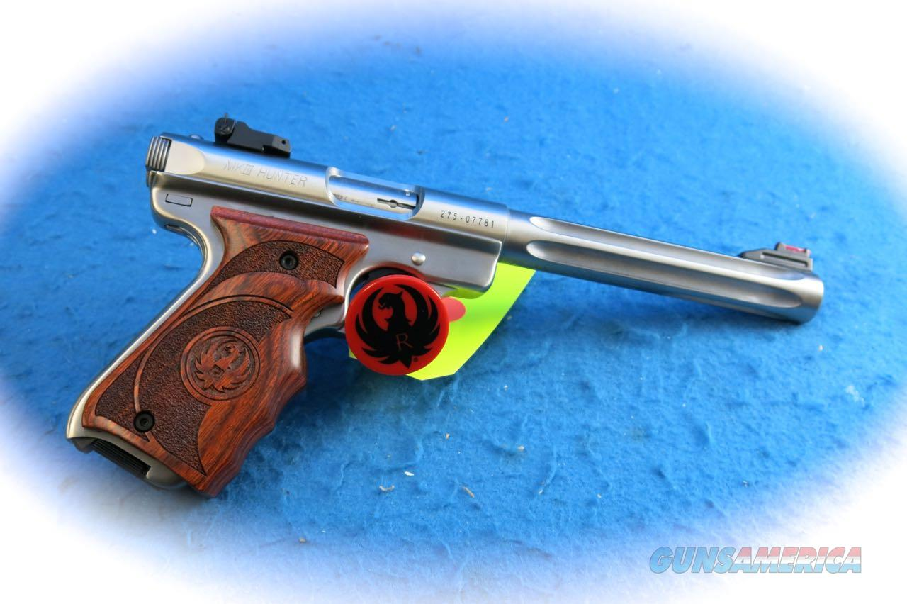 Ruger Mark III Hunter .22LR Pistol Model 10160 **New**  Guns > Pistols > Ruger Semi-Auto Pistols > Mark I & II Family