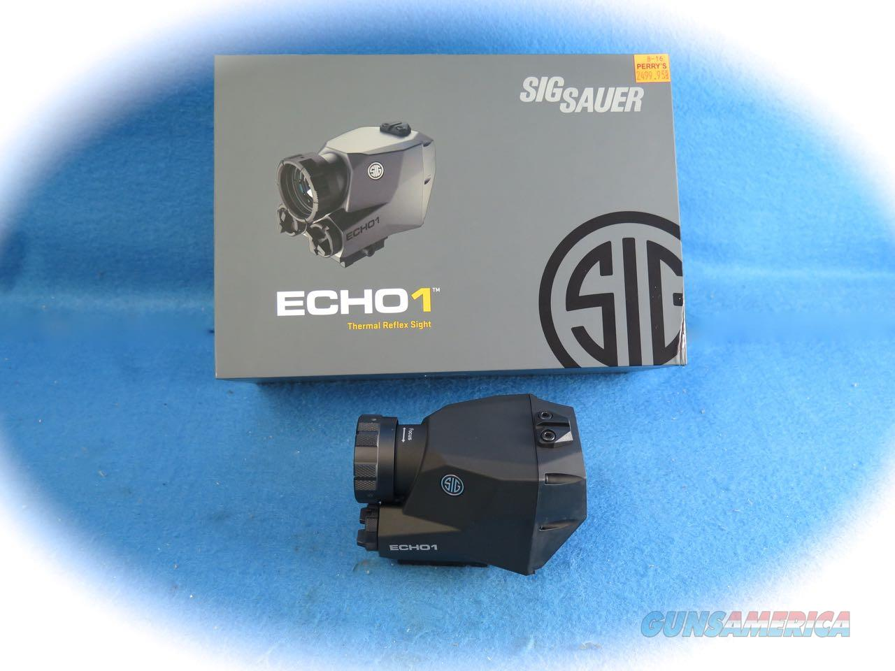 Sig Sauer ECHO1 Digital Thermal Imaging Reflex Sight **New**  Non-Guns > Scopes/Mounts/Rings & Optics > Non-Scope Optics > Other