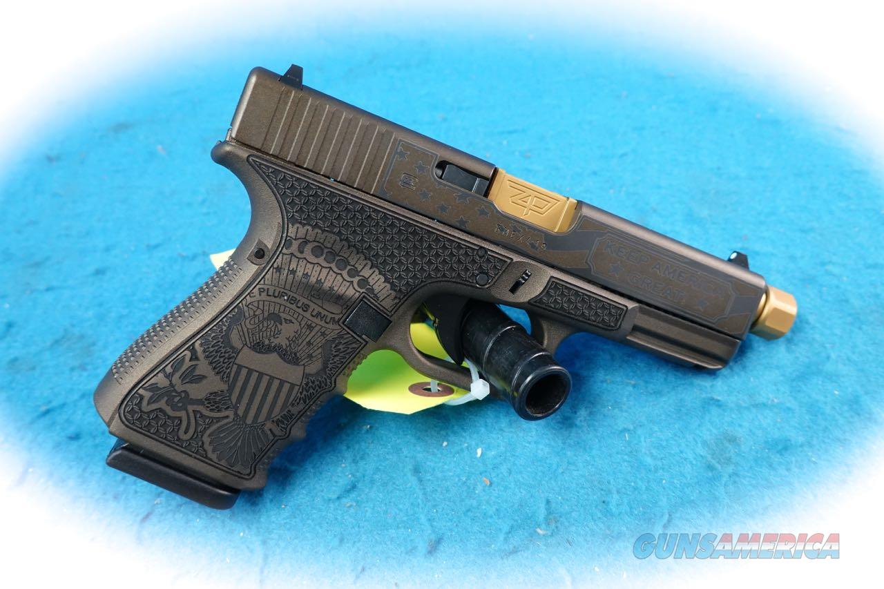 Glock 19 Gen 4 Pistol Trump Custom Commemorative **New**  Guns > Pistols > Glock Pistols > 19/19X