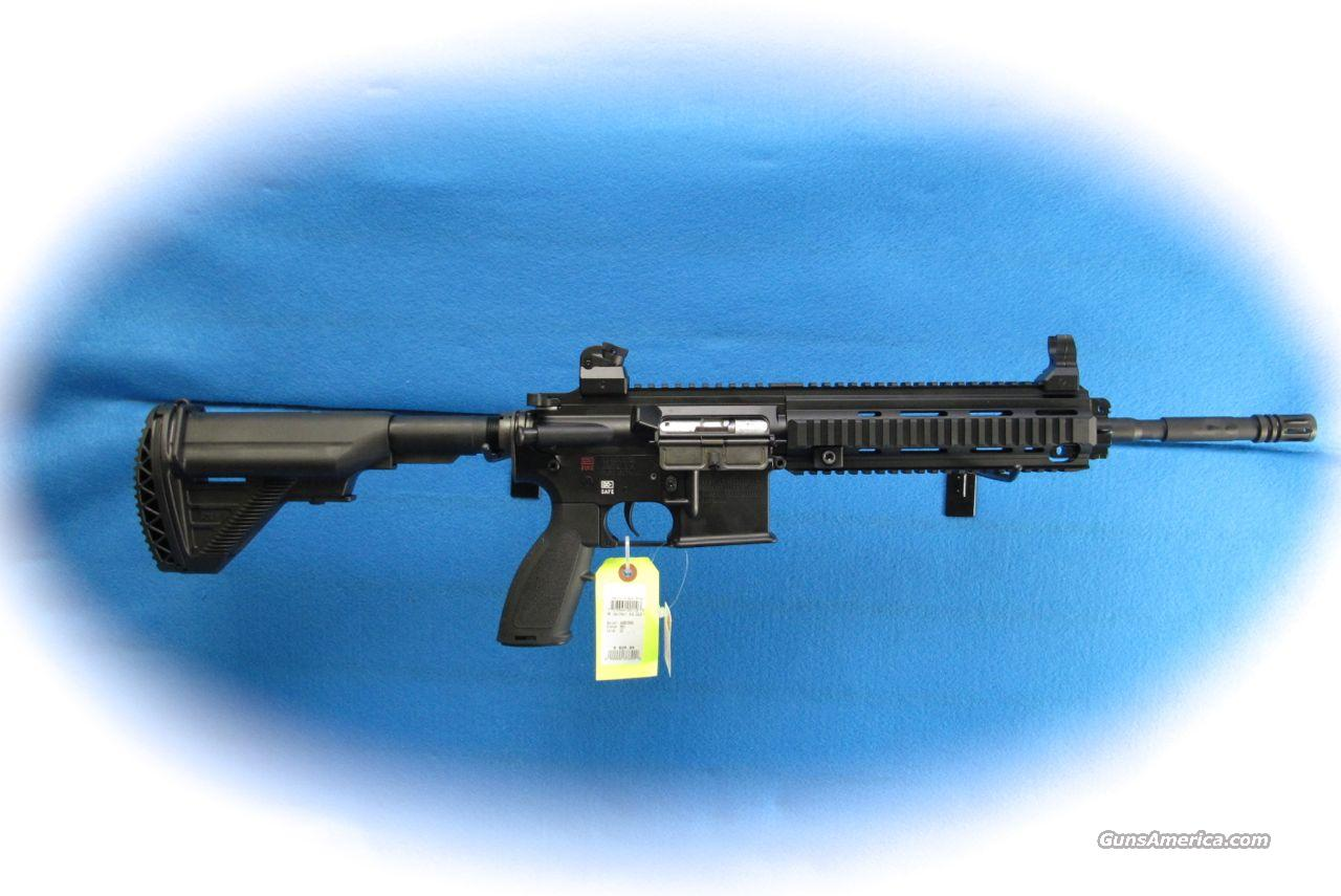 Walther H&K 416 Carbine .22LR Cal **New**  Guns > Rifles > Walther Rifles