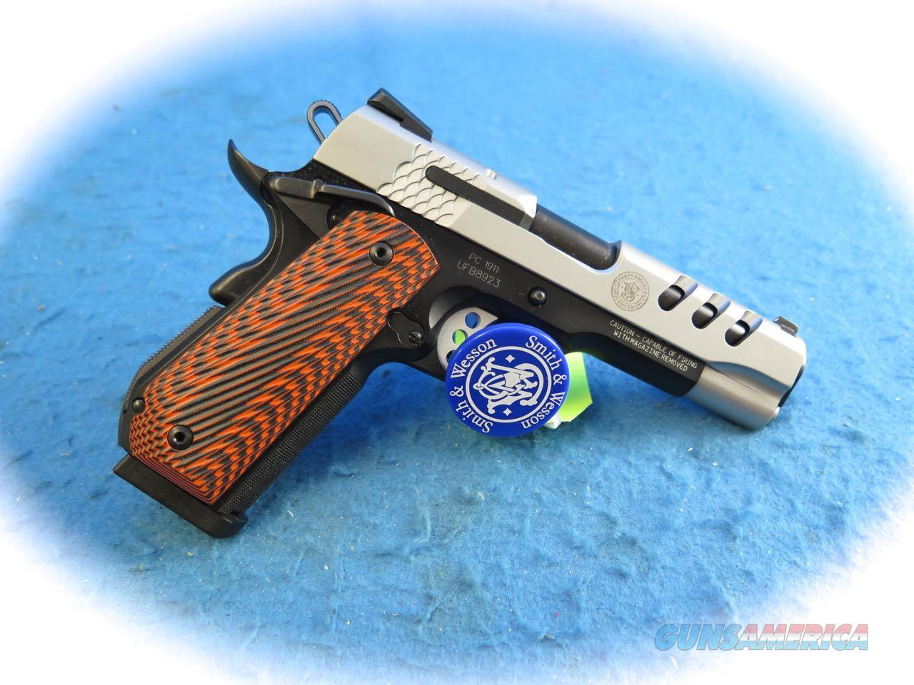 Smith & Wesson Performance Center SW1911 .45 ACP Pistol SKU 170344 **New**  Guns > Pistols > Smith & Wesson Pistols - Autos > Alloy Frame
