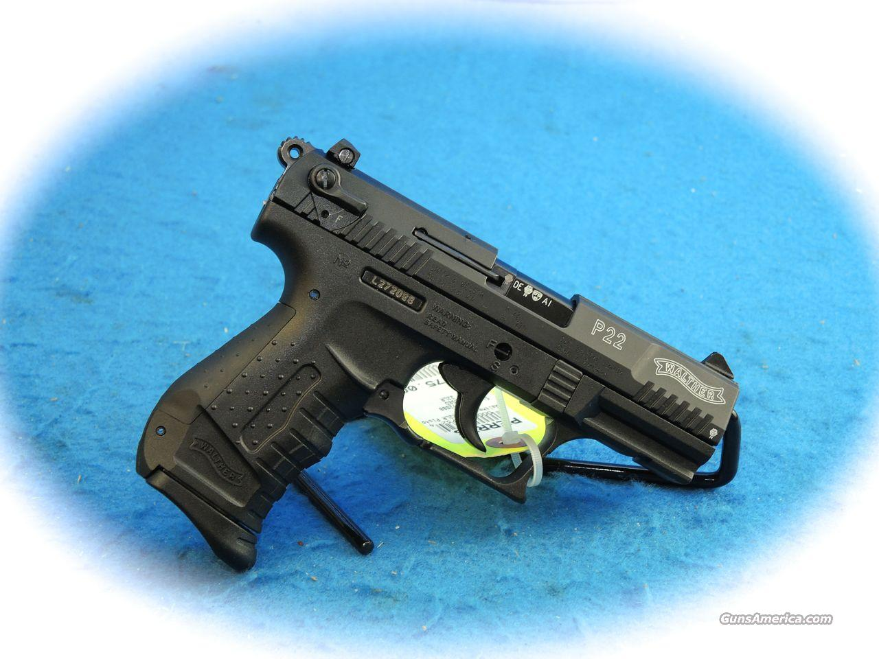 Walther P22 .22LR Semi Auto Pistol **Used**  Guns > Pistols > Walther Pistols > Post WWII > P22