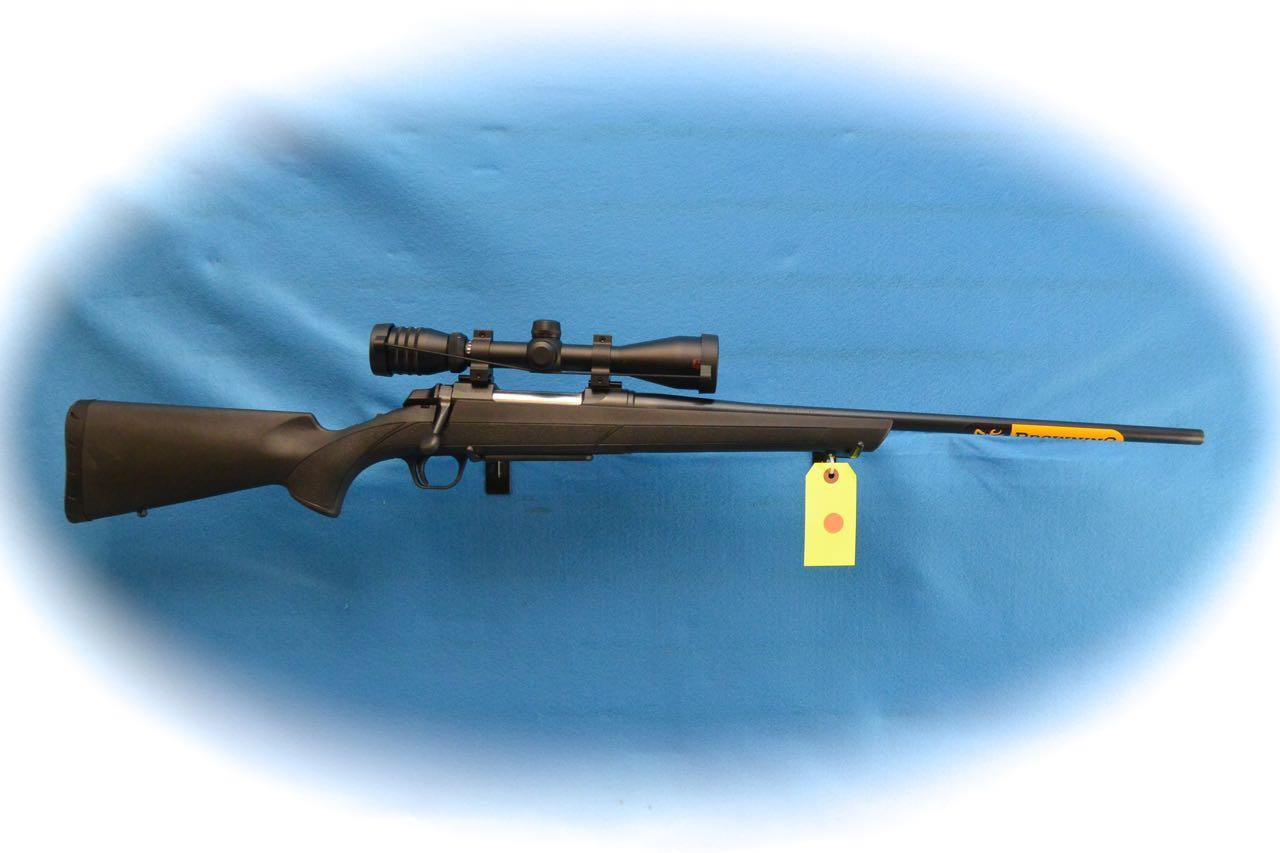 Browning A-Bolt III Bolt Action Rifle/Scope Pkg .30-06 Cal **New**  Guns > Rifles > Browning Rifles > Bolt Action > Hunting > Blue