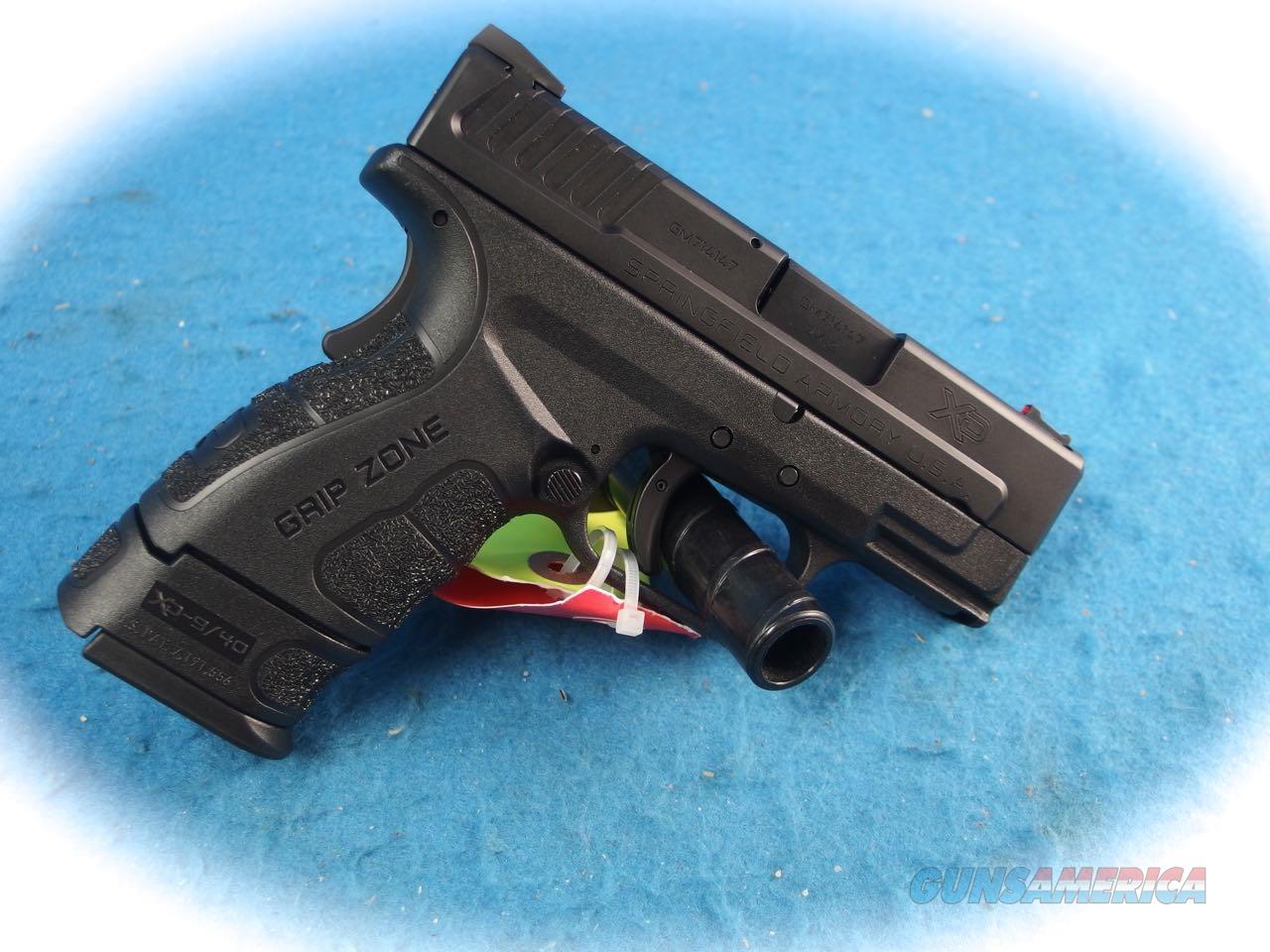 SpringfieldArmory XD MOD.2 – 3 Inch SUB-COMPACT MODEL 9MM **New**  Guns > Pistols > Springfield Armory Pistols > XD-Mod.2