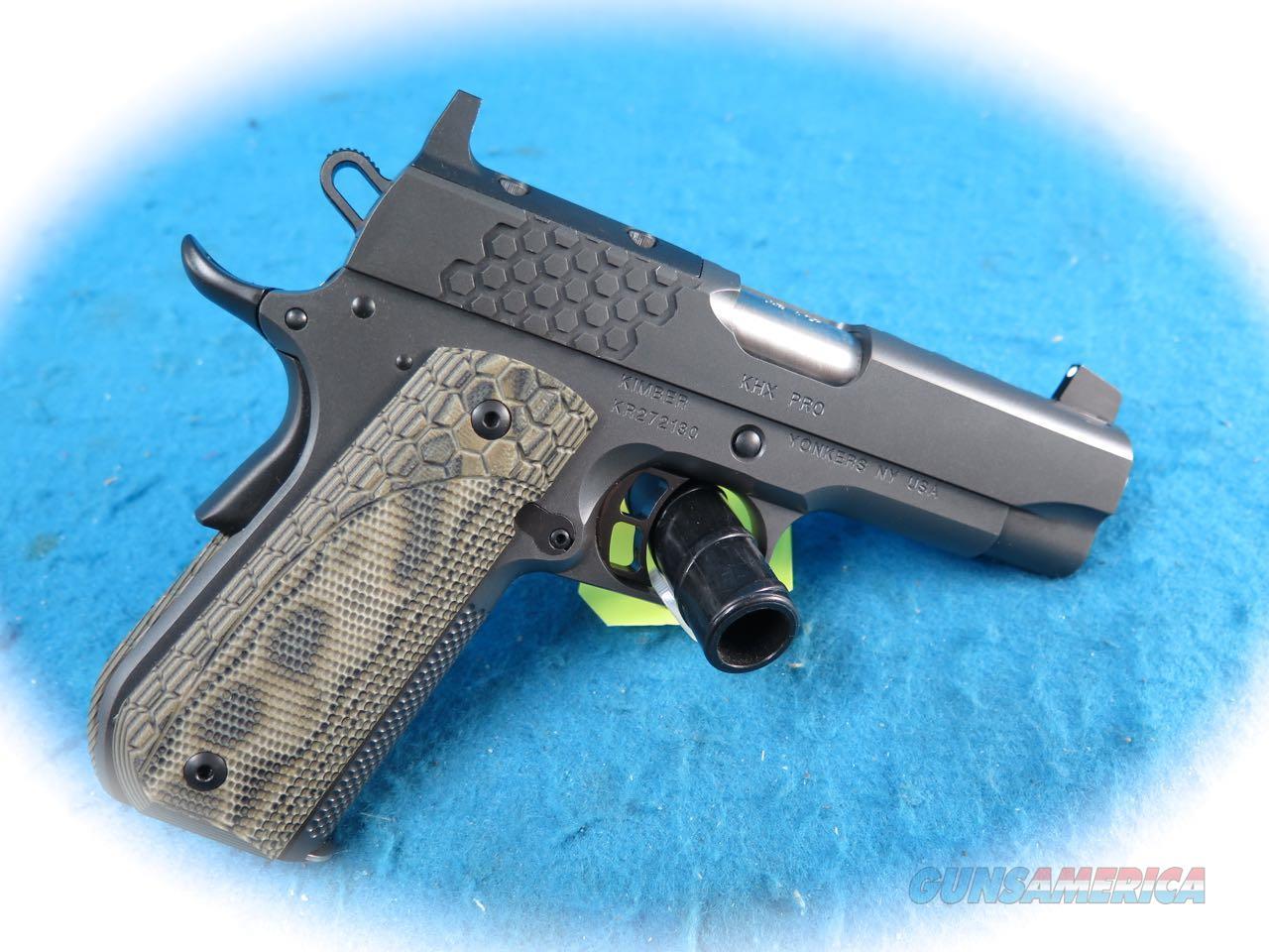 Kimber 1911 KHX Pro (OR) .45 ACP Pistol Model 3000362 **New**  Guns > Pistols > Kimber of America Pistols > 1911