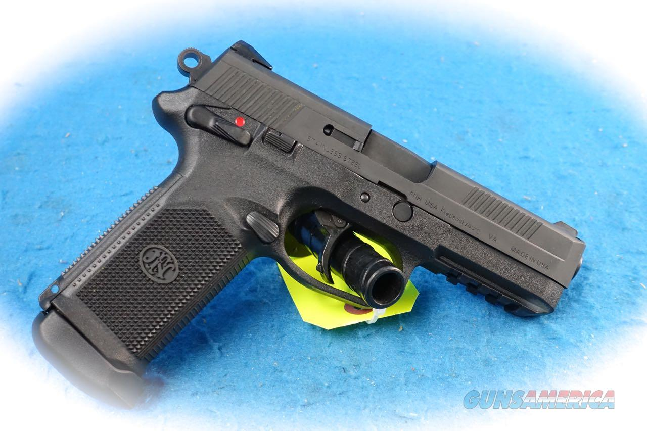FNH Model FNX-45 Pistol .45 ACP Cal **Used**  Guns > Pistols > FNH - Fabrique Nationale (FN) Pistols > FNX