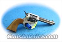 Colt Frontier Scout DuoTone .22 LR Singe Action Revolver **Used**  Guns > Pistols > Colt Single Action Revolvers - Modern (22 Cal.)