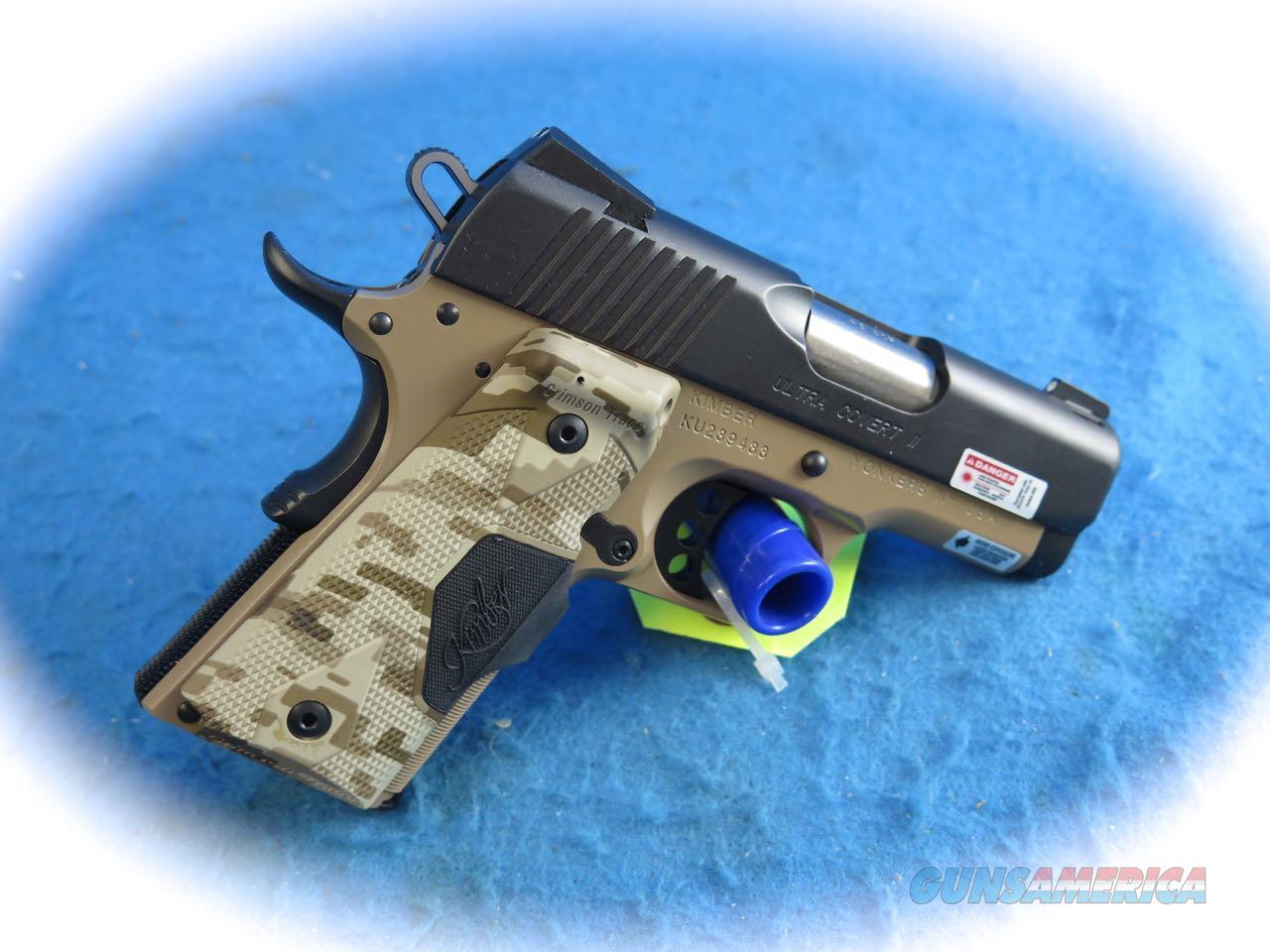 Kimber Ultra Covert II 1911 .45 ACP Pistol W/CTC Lasergrips **New** Guns > Pistols >  Kimber of America Pistols > 1911