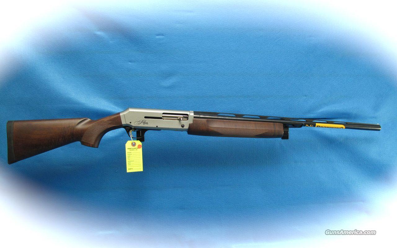browning silver hunter 20 ga semi auto shotgun for sale. Black Bedroom Furniture Sets. Home Design Ideas