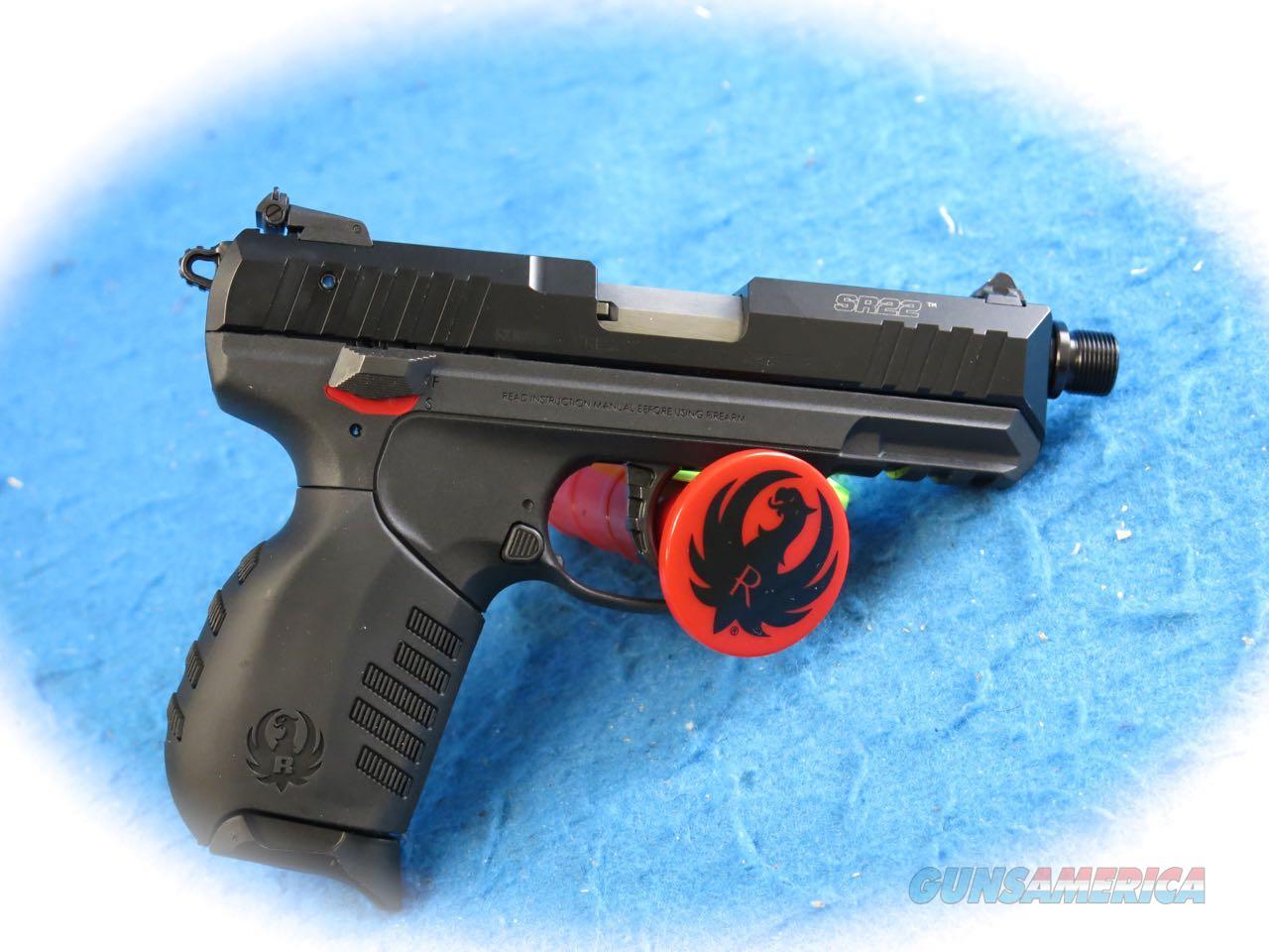 **SALE!!** Ruger SR22 .22LR Semi Auto Pistol W/TB **New**  Guns > Pistols > Ruger Semi-Auto Pistols > SR Family > SR22