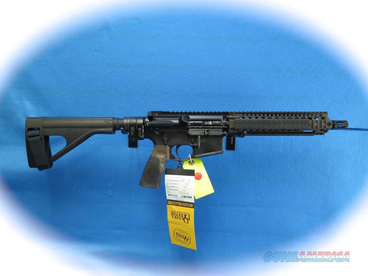 Daniel Defense MK18 Pistol (Law Tactical) 5.56MM **New**  Guns > Pistols > D Misc Pistols