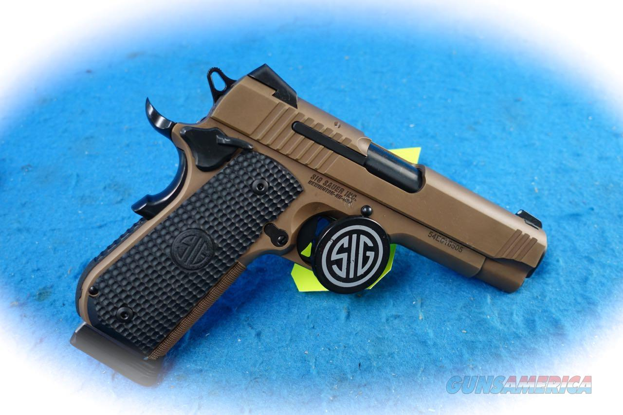 Sig Sauer 1911 Fastback Emperor Scorpion Carry .45 ACP Pistol **New**  Guns > Pistols > Sig - Sauer/Sigarms Pistols > 1911