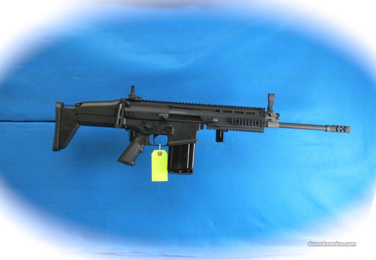 FNH FN SCAR 17S Semi Auto Rifle 7.62MM **New**  Guns > Rifles > FNH - Fabrique Nationale (FN) Rifles > Semi-auto > Other