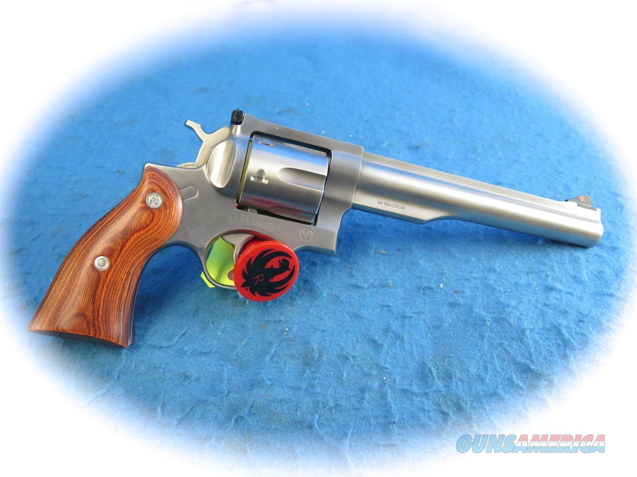 "Ruger RedHawk .44 Mag SS DA Revolver 7.5"" BBL Model 5001 **New**  Guns > Pistols > Ruger Double Action Revolver > Redhawk Type"