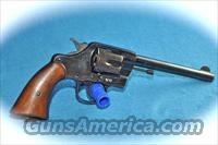 Colt US Army Model 1901 Double Action 38 Caliber w/ Period Holster **Good Condition**  Guns > Pistols > Colt Double Action Revolvers- Pre-1945