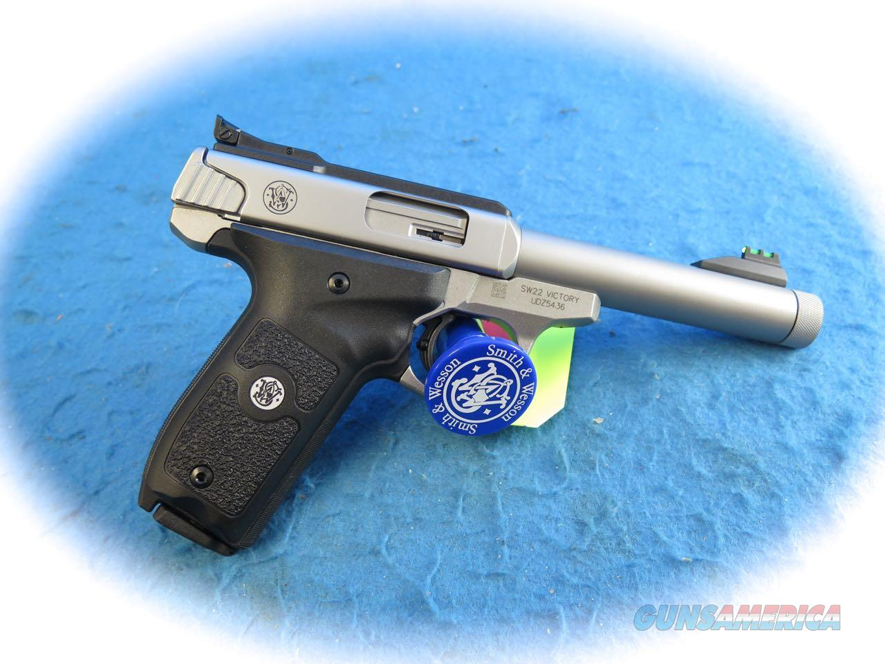 Smith & Wesson SW22 VICTORY® .22LR Pistol THREADED BARREL SKU: 10201  Guns > Pistols > Smith & Wesson Pistols - Autos > .22 Autos