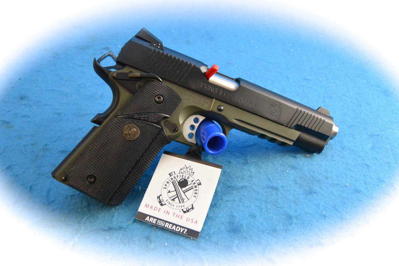 Springfield Armory 1911 Loaded Operator MC OD Green .45 ACP Pistol **New**  Guns > Pistols > Springfield Armory Pistols > 1911 Type