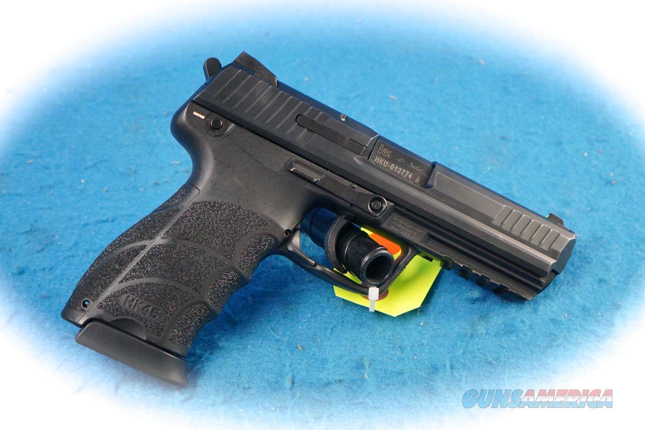 Heckler & Koch HK45 Semi Auto Pistol .45 ACP Cal **Used**  Guns > Pistols > Heckler & Koch Pistols > Polymer Frame