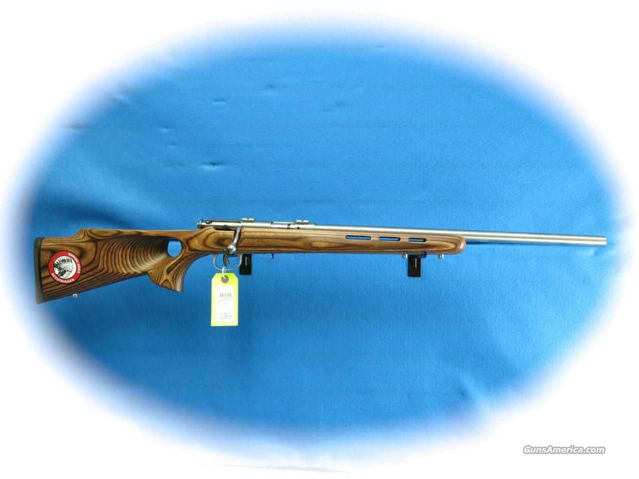 Savage Model 93R17 BTVS .17 HMR Bolt Action Rifle Lam Stock **New**  Guns > Rifles > Savage Rifles > Accutrigger Models > Sporting