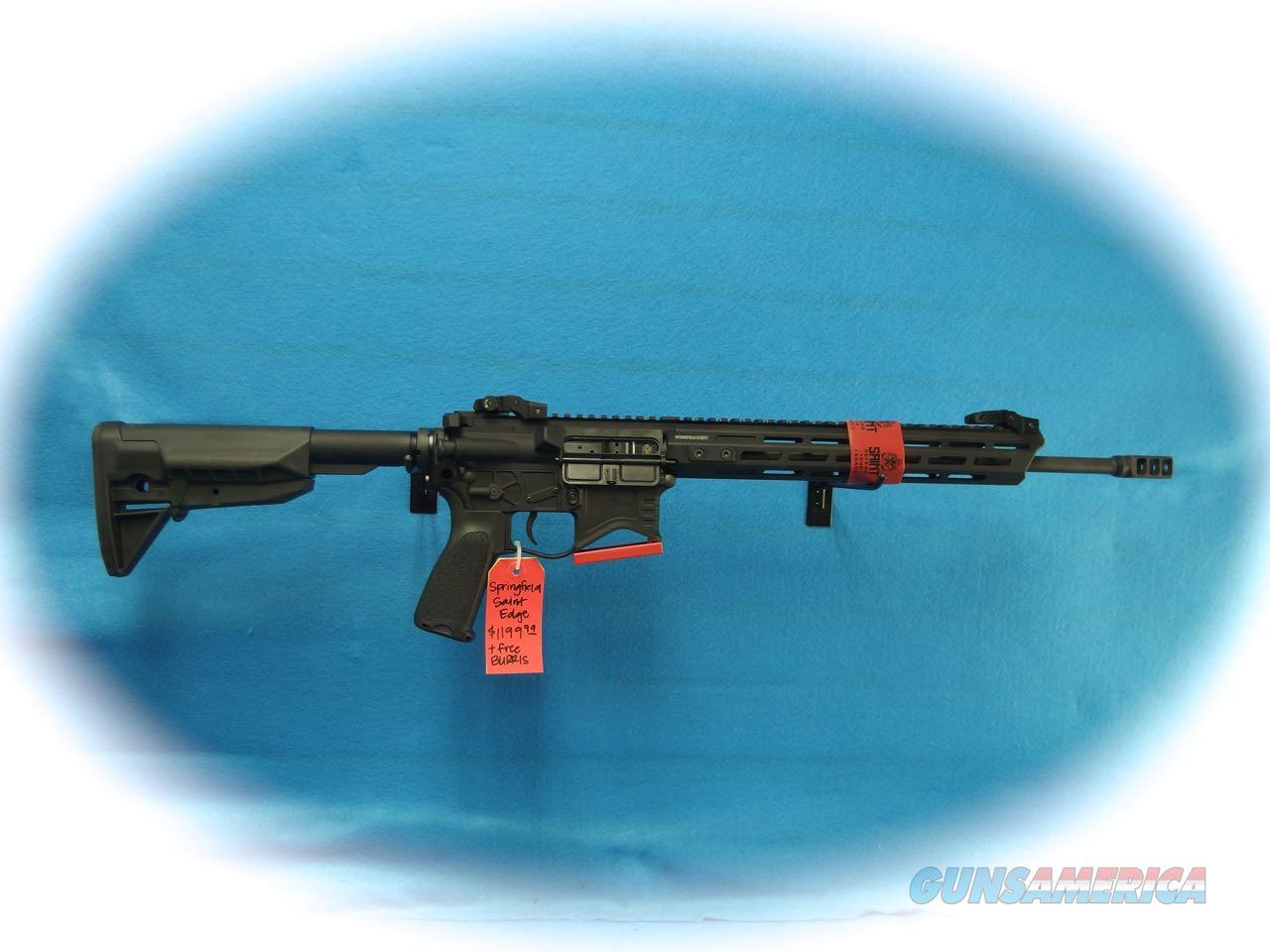 Springfield Armory Saint Edge 5.56mm Rifle Model STE916556B **New**  Guns > Rifles > Springfield Armory Rifles > SAINT