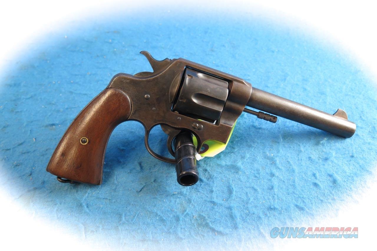 Colt Model 1909  U. S. Army .45 Colt Revolver US Property Marked **Used**  Guns > Pistols > Colt Double Action Revolvers- Pre-1945