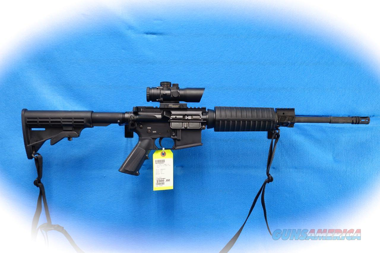 Sig Sauer M400 M4 Type Carbine 5.56MM W/ Sig CP1 Scope **Used**  Guns > Rifles > Sig - Sauer/Sigarms Rifles