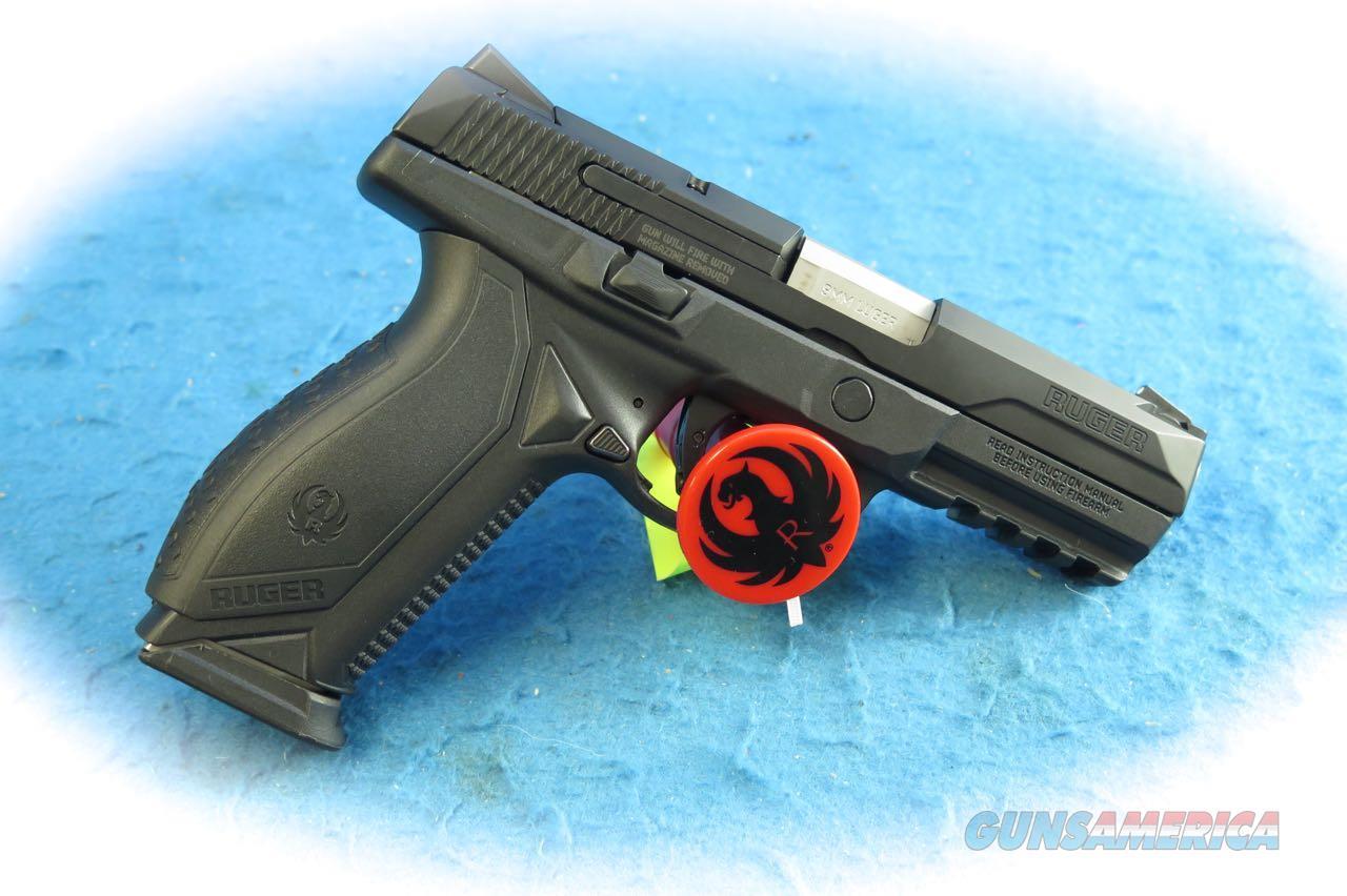 Ruger American 9mm Pistol Model 8605 **New**  Guns > Pistols > Ruger Semi-Auto Pistols > American Pistol