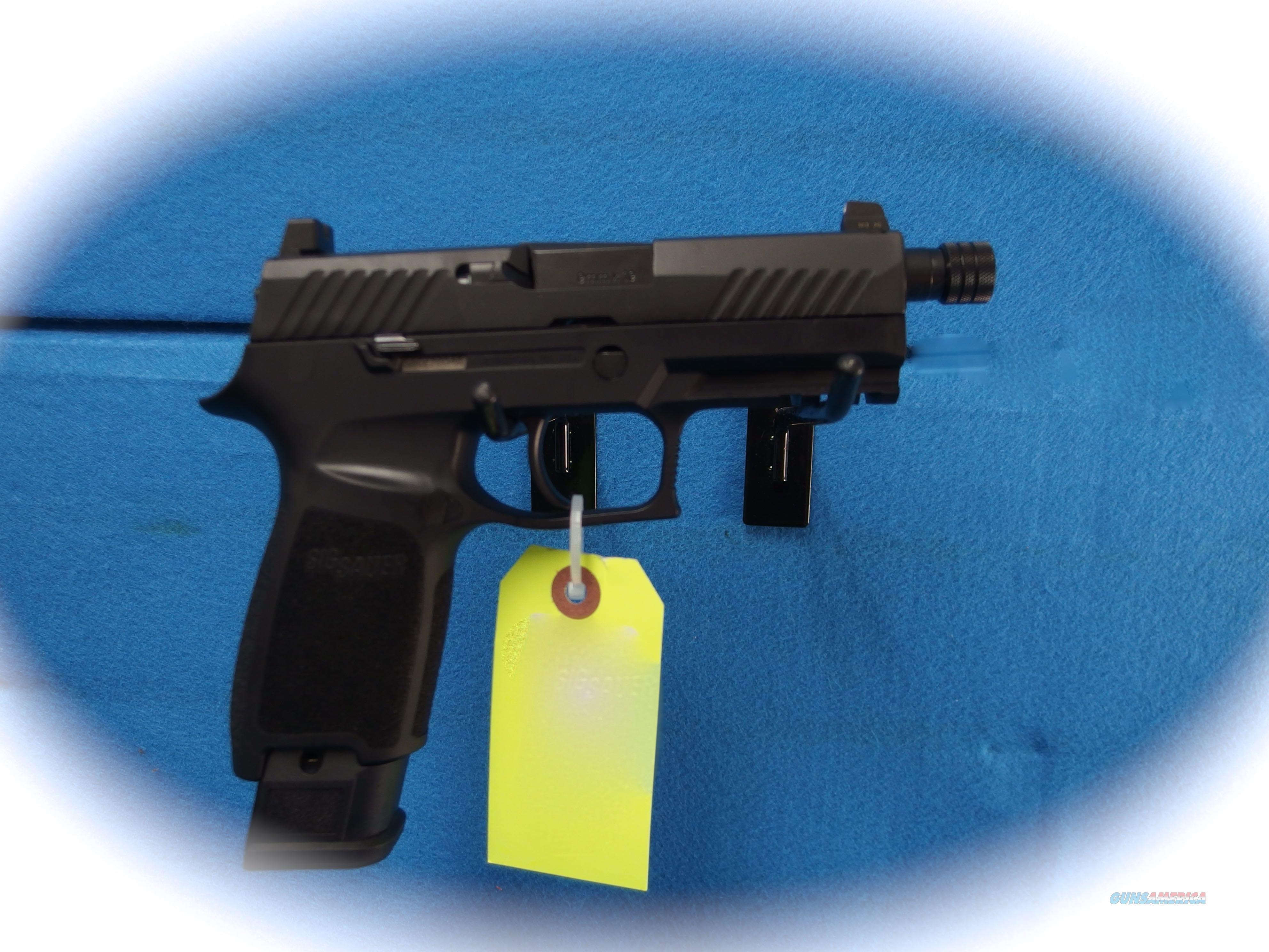Sig Sauer P320 TacOps 9mm Semi Auto Pistol W/TB **New**  Guns > Pistols > Sig - Sauer/Sigarms Pistols > P320