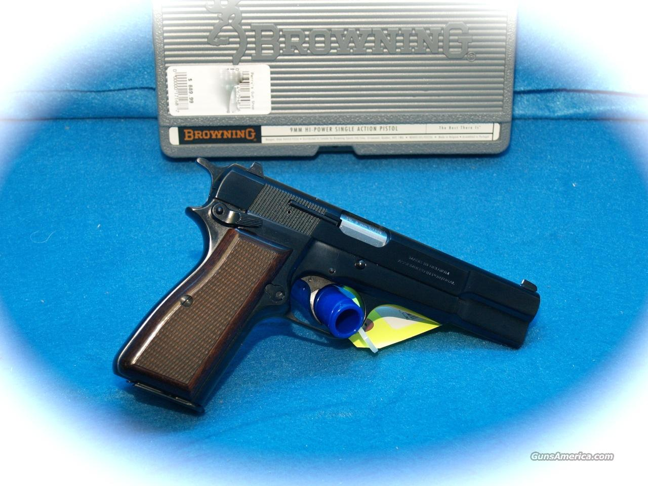Browning Hi-Power 9mm Standard  Guns > Pistols > Browning Pistols > Hi Power