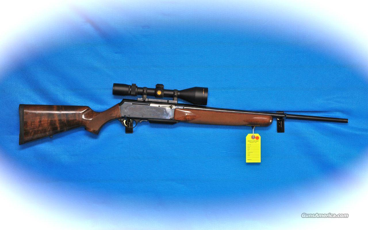 Browning bar safari model 270 win cal w nikon scope used guns
