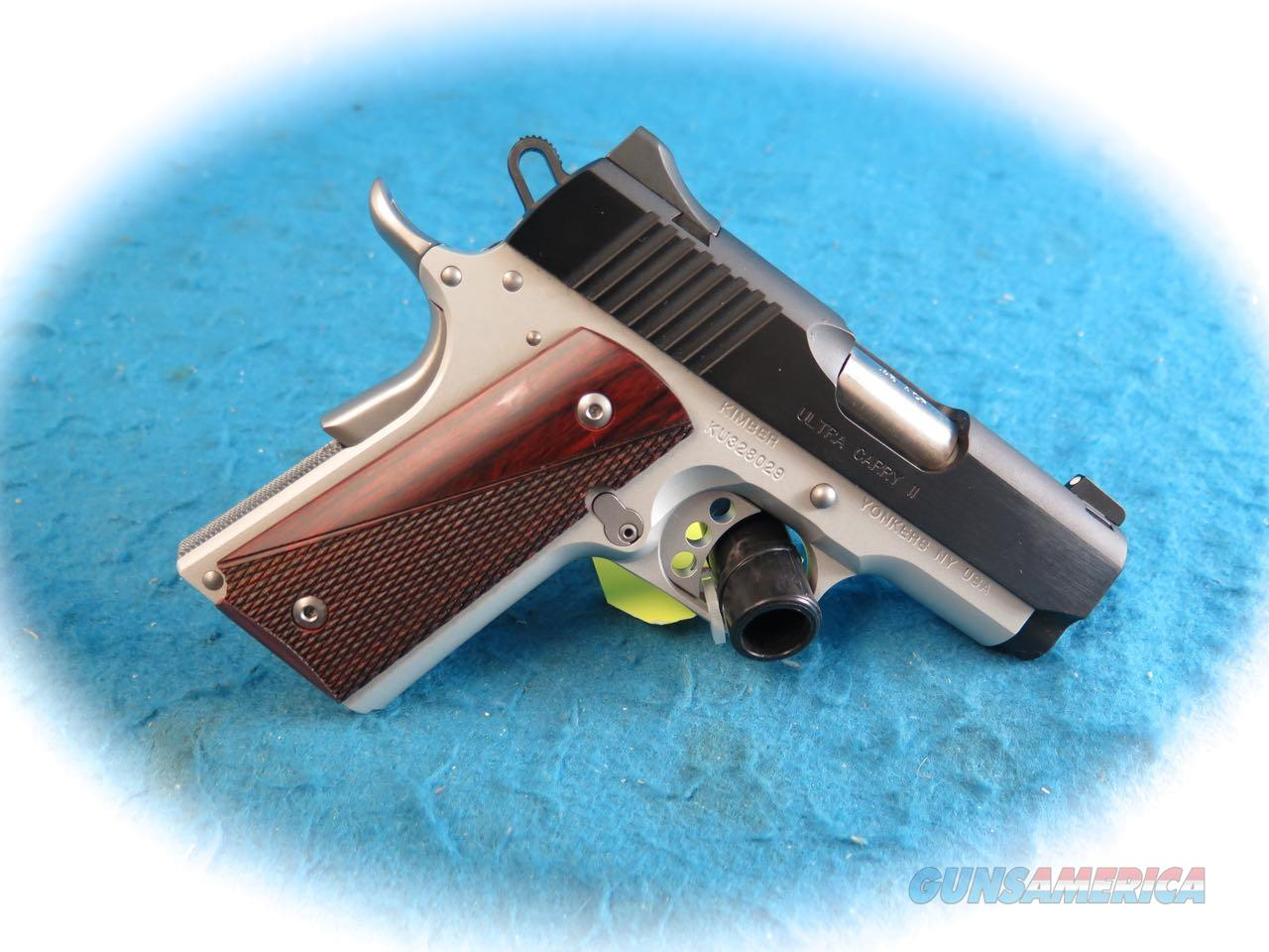 Kimber 1911 Ultra Carry II Two-Tone  .45ACP Pistol **New**  Guns > Pistols > Kimber of America Pistols > 1911
