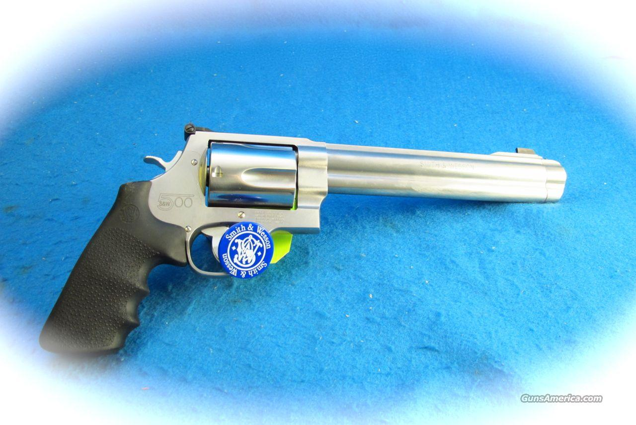 Smith & Wesson Model S&W500 .500 Mag Revolver **New**  Guns > Pistols > Smith & Wesson Revolvers > Full Frame Revolver