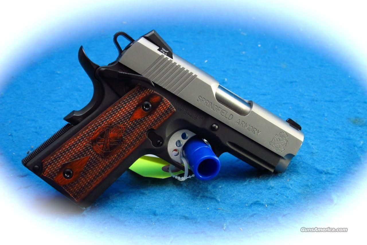 Springfield Armory 1911 Micro LW Compact 45 ACP PIstol w/Light **New**  Guns > Pistols > Springfield Armory Pistols > 1911 Type