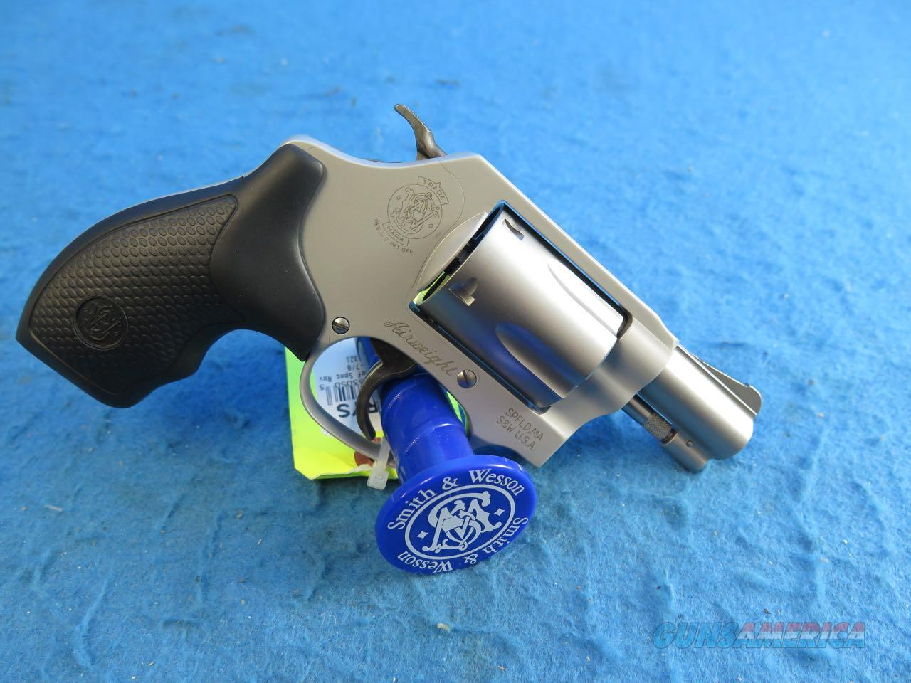 Smith & Wesson Model 637 .38 Special Airweight 5 Shot Revolver SKU 163050 **New**  Guns > Pistols > Smith & Wesson Revolvers > Small Frame ( J )