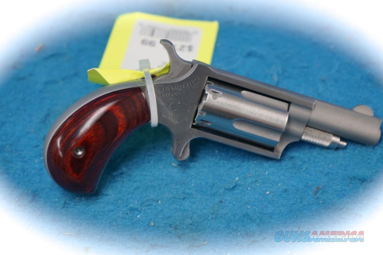 North American Arms NAA-22MC Dual Cylinder Revolver .22Mag/.22LR **New**  Guns > Pistols > North American Arms Pistols