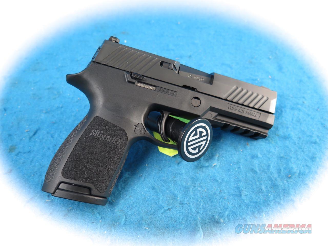 Sig Sauer P320C  Nitron Compact .45ACP Pistol Model 320C-45-BSS **New**  Guns > Pistols > Sig - Sauer/Sigarms Pistols > P320