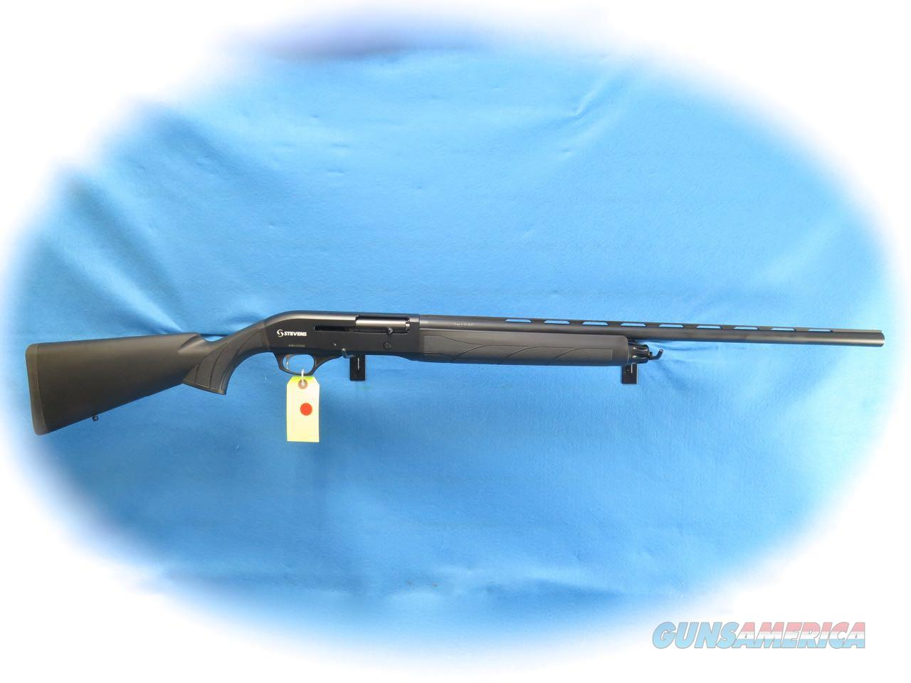 Stevens S1200 Semi Auto 12 Ga. Shotgun Black Synthetic **New**  Guns > Shotguns > Stevens Shotguns