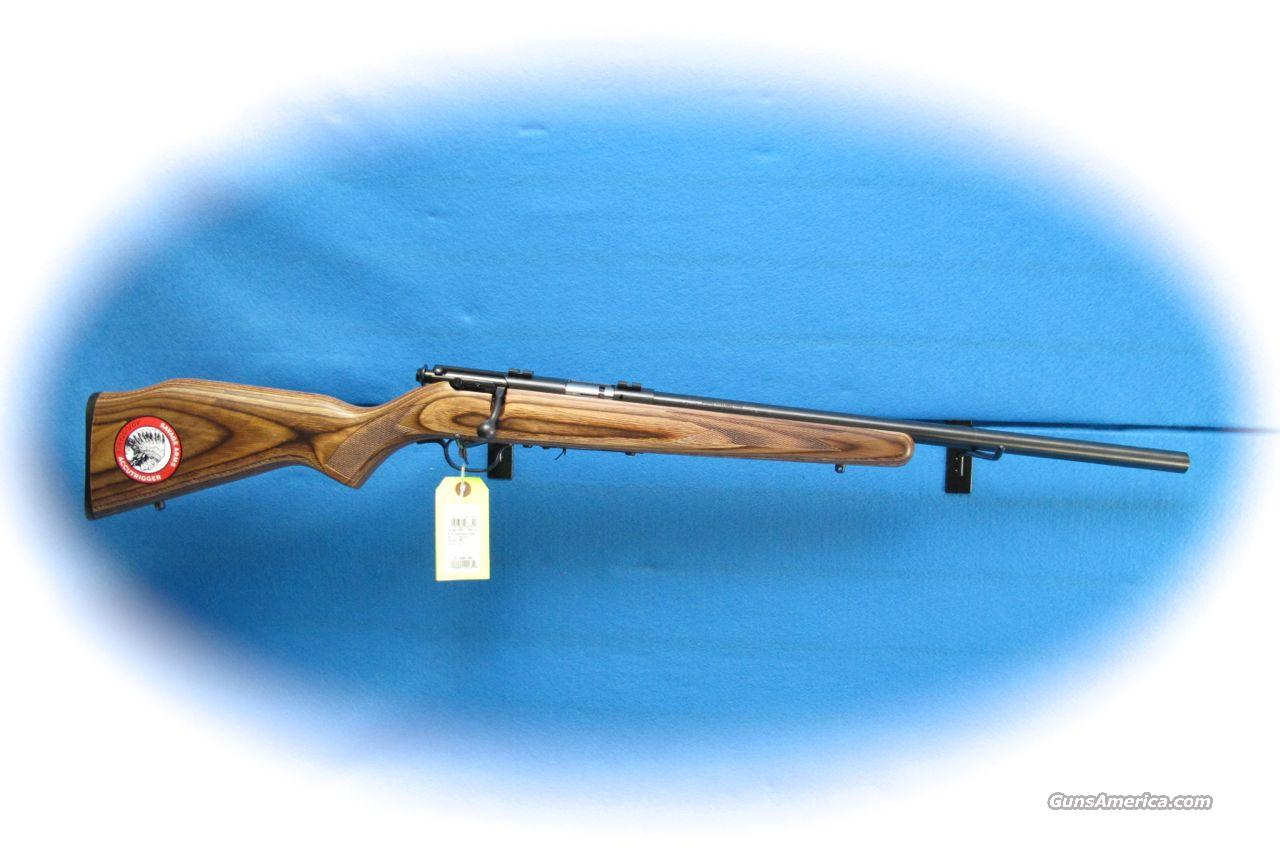 Savage Arms 93R17-BV Laminated 17HMR Bolt Action Rifle **New**  Guns > Rifles > Savage Rifles > Accutrigger Models > Sporting