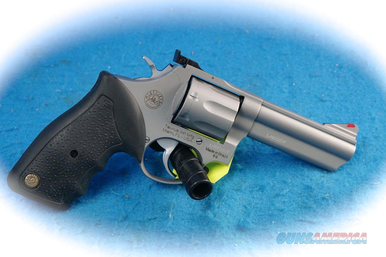 "Taurus Model 66 .357 Mag SS 4"" BBL **New**  Guns > Pistols > Taurus Pistols > Revolvers"