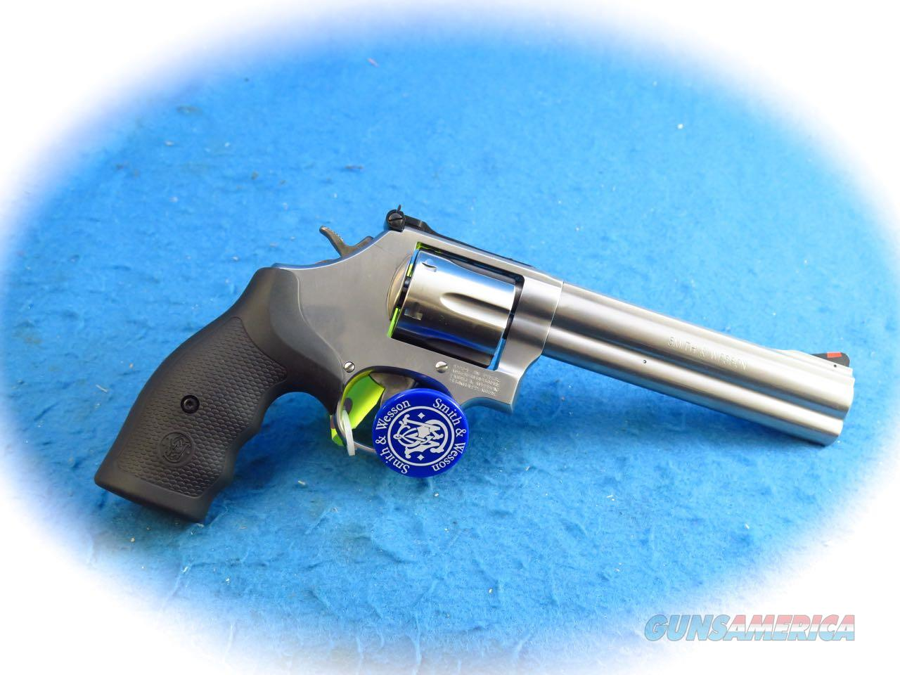 Smith & Wesson Model 686 .357 Mag SS Revolver 6 Inch SKU 164224 **New**  Guns > Pistols > Smith & Wesson Revolvers > Med. Frame ( K/L )