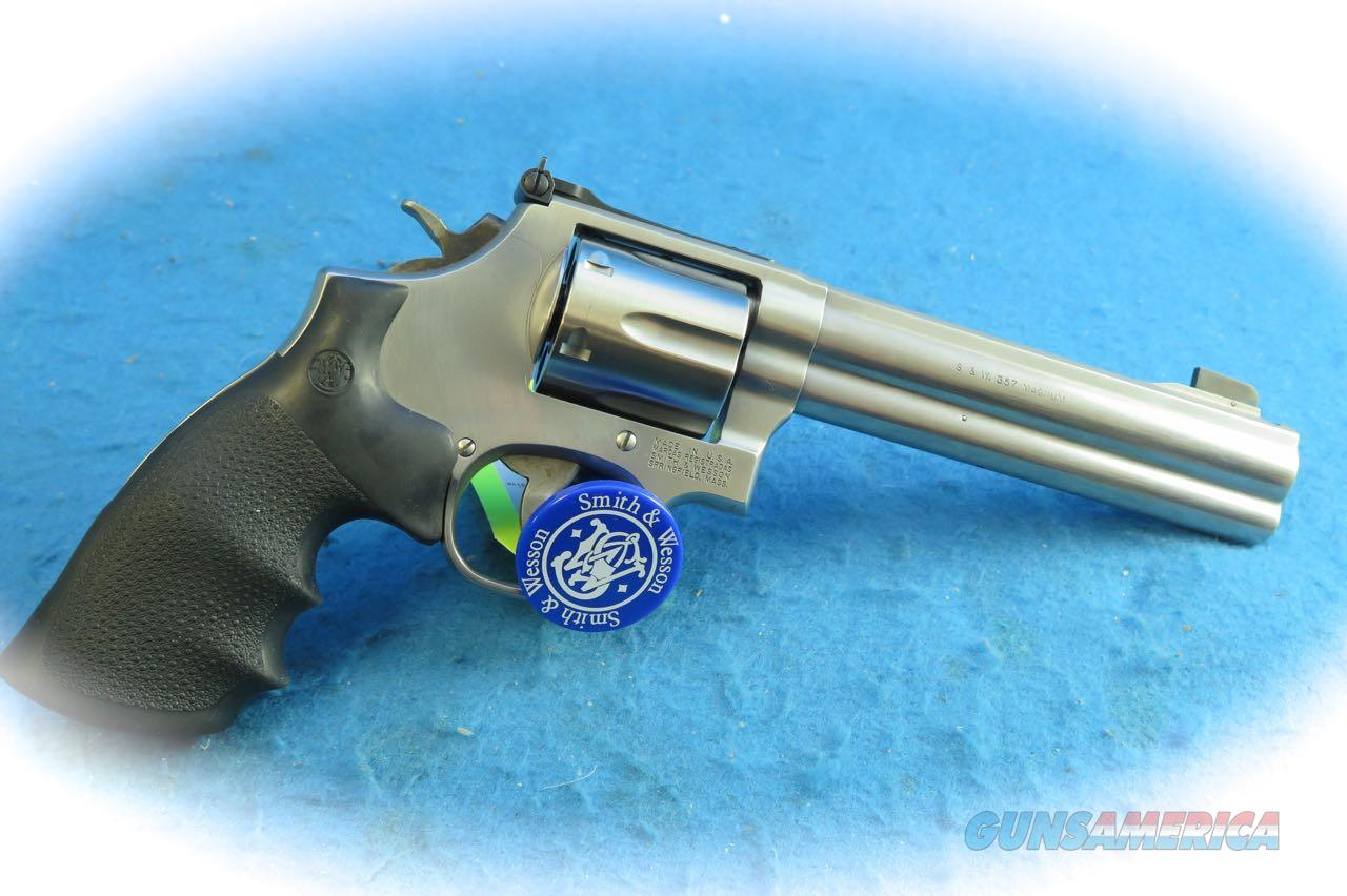"Smith & Wesson Model 686-5 .357 Magnum Revolver 6"" BBL **Used**  Guns > Pistols > Smith & Wesson Revolvers > Full Frame Revolver"