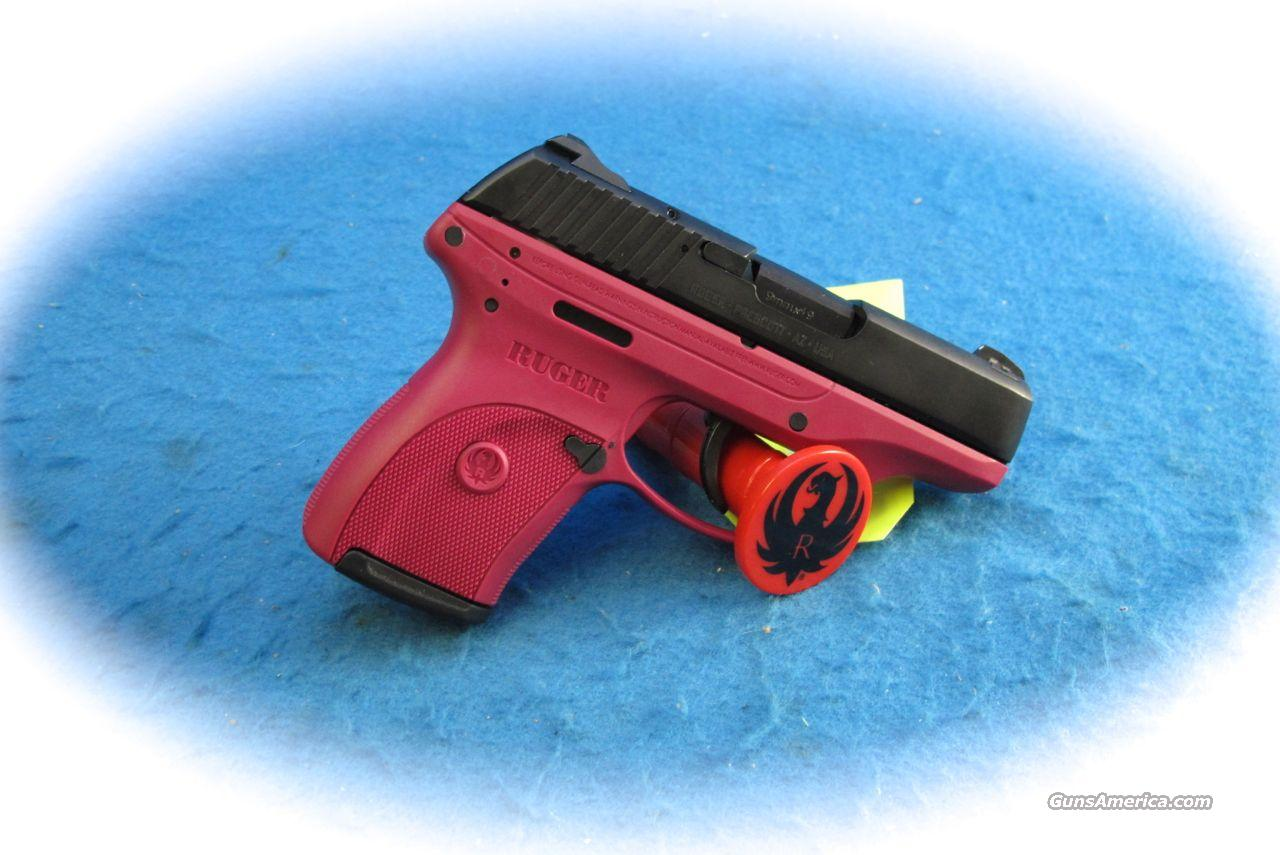 Ruger LC9 9mm Pistol Rasberry Color **Used**  Guns > Pistols > Ruger Semi-Auto Pistols > LC9