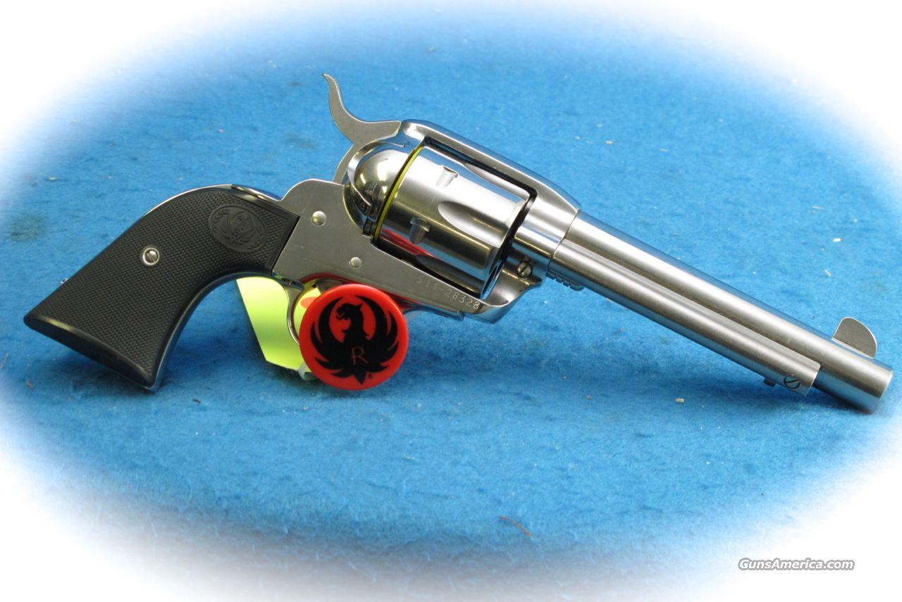 Ruger Vaquero .45 Colt SS Single Action Revolver **New**  Guns > Pistols > Ruger Single Action Revolvers > Cowboy Action