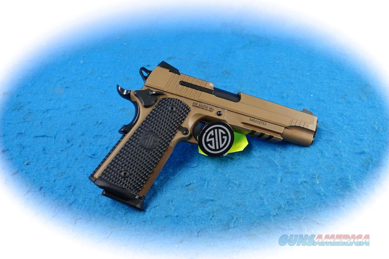 Sig Sauer 1911 Emperor Scorpion Full Size .45 ACP Pistol **New**   Guns > Pistols > Sig - Sauer/Sigarms Pistols > 1911