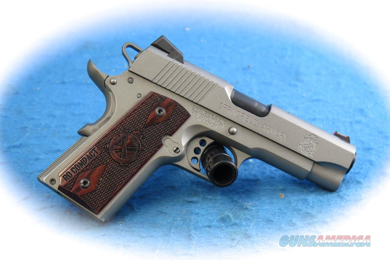 Springfield Armory 1911 LW Compact Range Officer .45 ACP Pistol **Used**  Guns > Pistols > Springfield Armory Pistols > 1911 Type